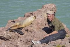 Mein Freund der Seelöwe - Patagonien