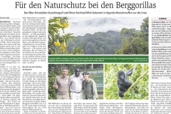 Darmstädter Echo: Berggorillas im Bwindi Nationalpark