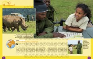 Maisha & die Nashörner