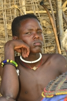 Menschen im Umkreis der Nationalparks - der Stamm der Pokot, Kenia