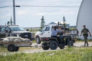 Reportage einer Eisbären Umsiedelung - Wildlifemanagement in Churchill, Hudson Bay