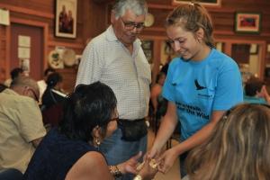 Bewegendes Treffen der Generationen & Kulturen / Wilderness International - Schülerexpedition