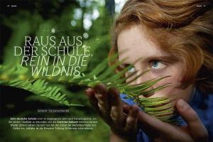 Ein Storycover der Wilderness International Schüler-Expedition - Kanada / 4Seasons